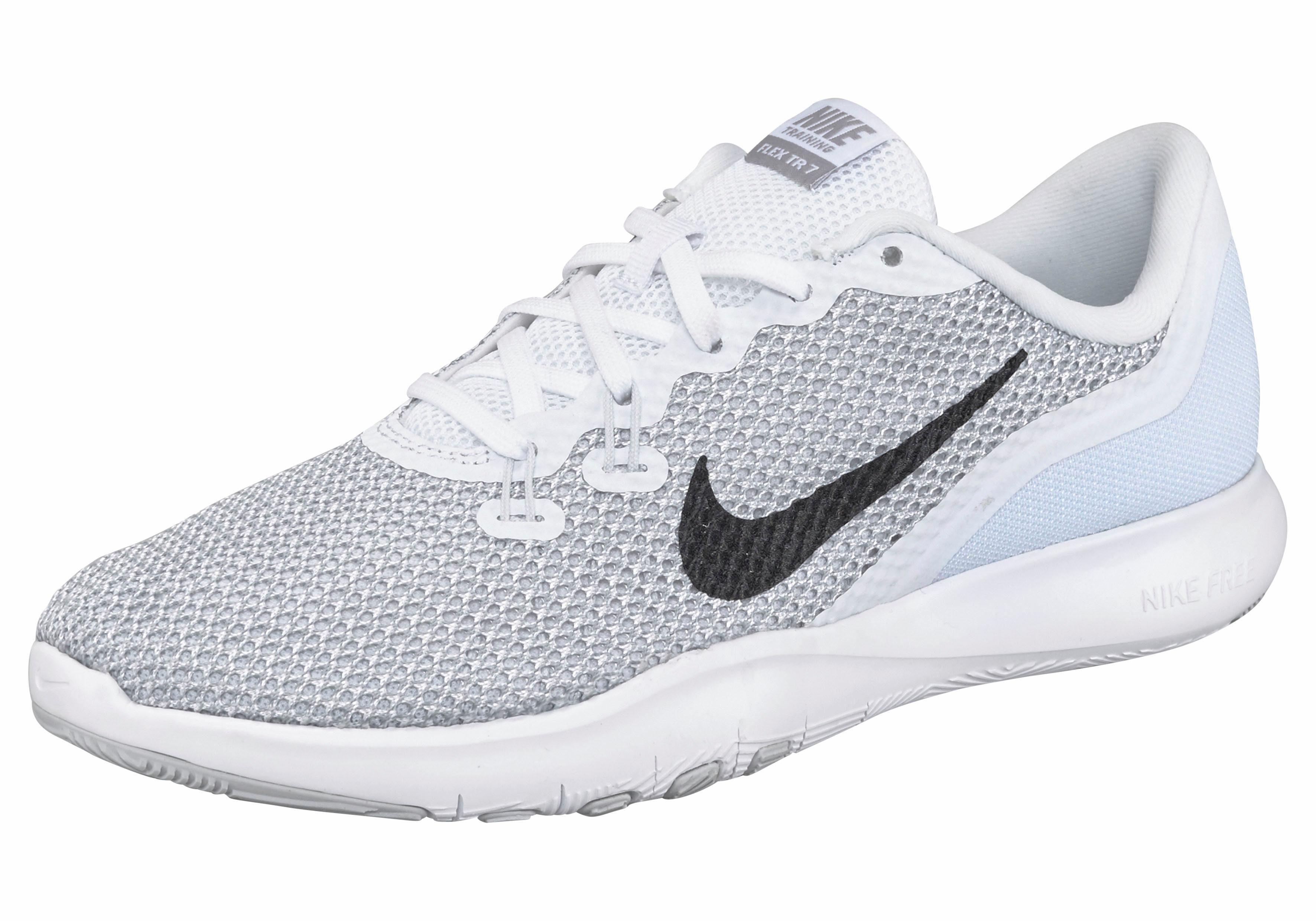 Nike Flex Trainer 7 Wmns Trainingsschuh kaufen  silberfarben-schwarz