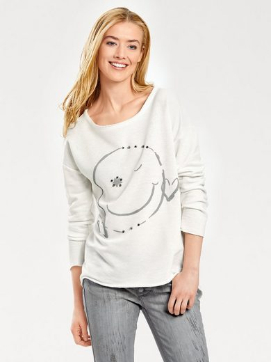 Bc Best Connections By Heine Sweatshirt With Rivet-applications