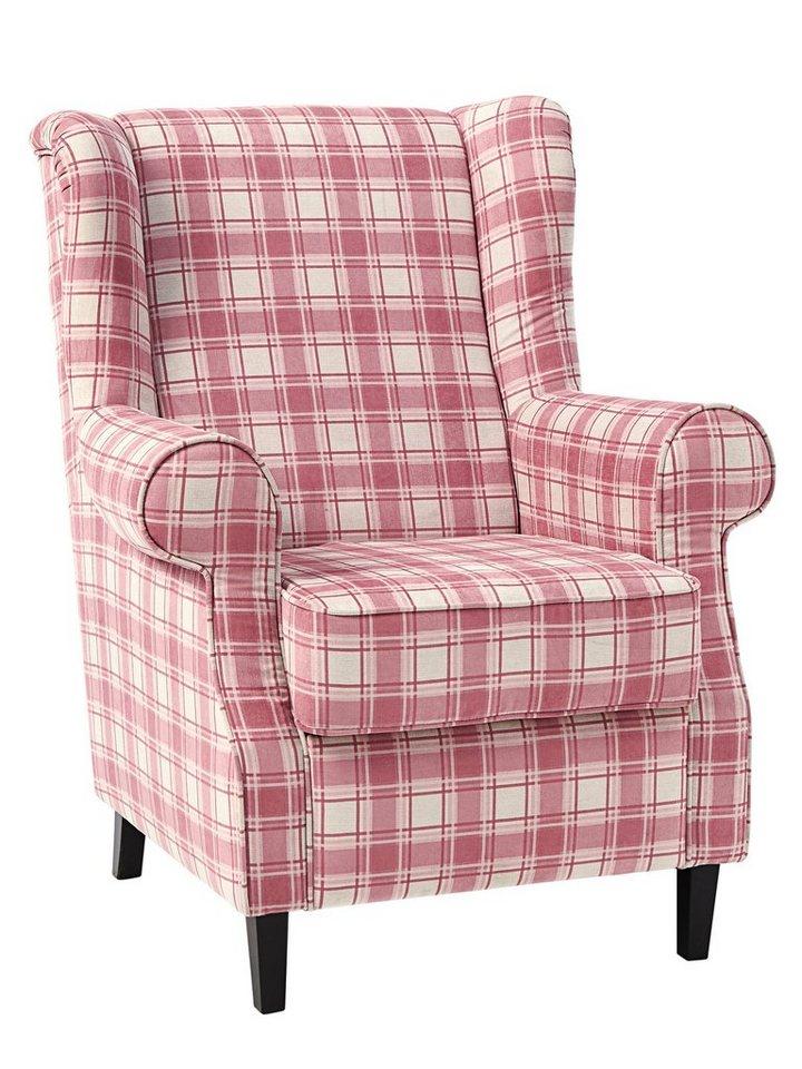 heine home ohrenbackensessel im landhaus stil otto. Black Bedroom Furniture Sets. Home Design Ideas