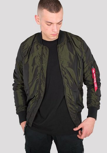 Alpha Industries Bomberjacke MA-1 LW Iridium