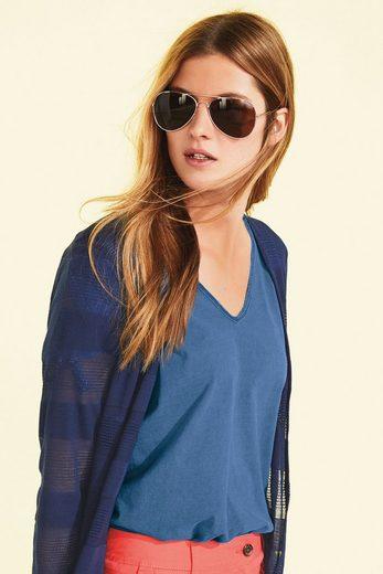 Next Baumwoll-T-Shirt mit Bindeärmeln