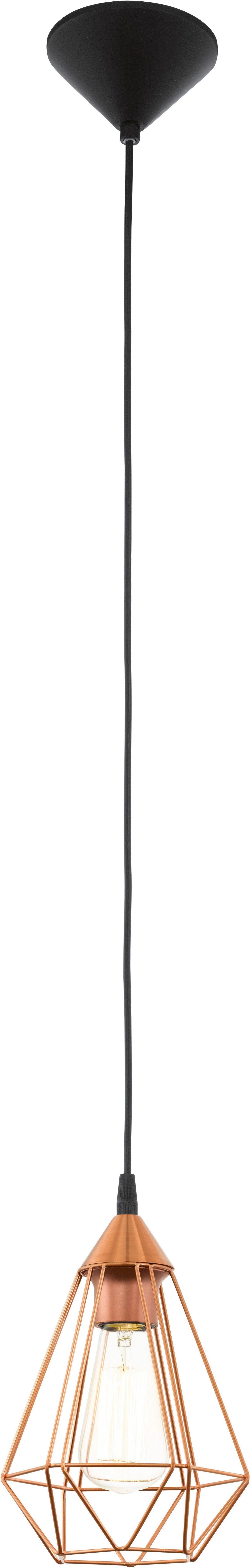 Eglo Pendelleuchte, 1flg., Ø 17,5 cm, »TRABES«