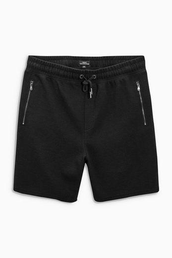 Next Strukturierte Jersey-Shorts
