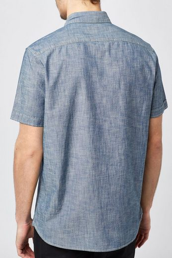 Next Kurzärmeliges Chambray-Hemd