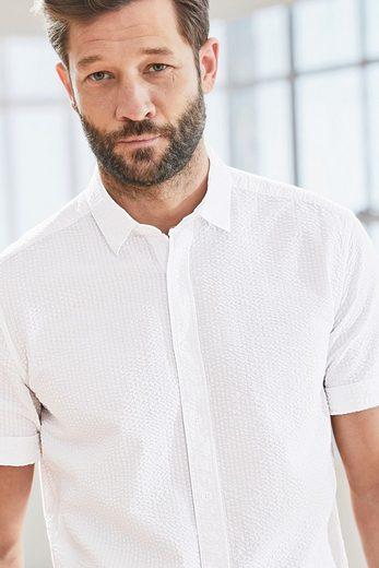 Next Kurzärmeliges Seersucker-Hemd