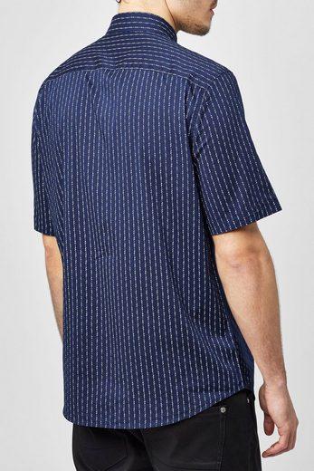 Next Kurzärmeliges Hemd mit geometrischem Muster