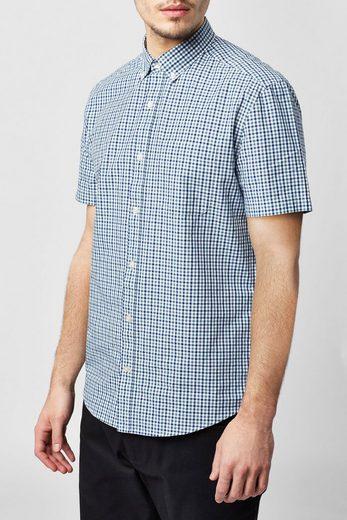 Next Kurzärmeliges Gingham-Hemd