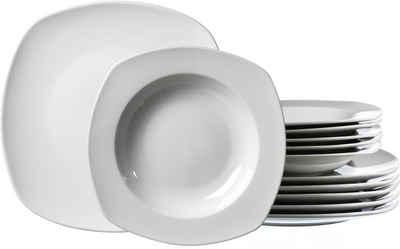 Ritzenhoff & Breker Tafelservice »PRIMO« (12-tlg), Porzellan, Mikrowellengeeignet