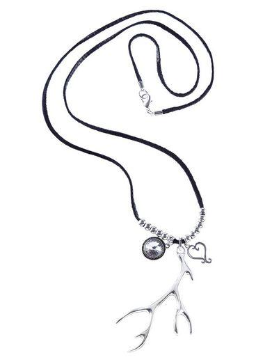 Klimm Trachtenhalskette Damen mit Swarovski-Stein
