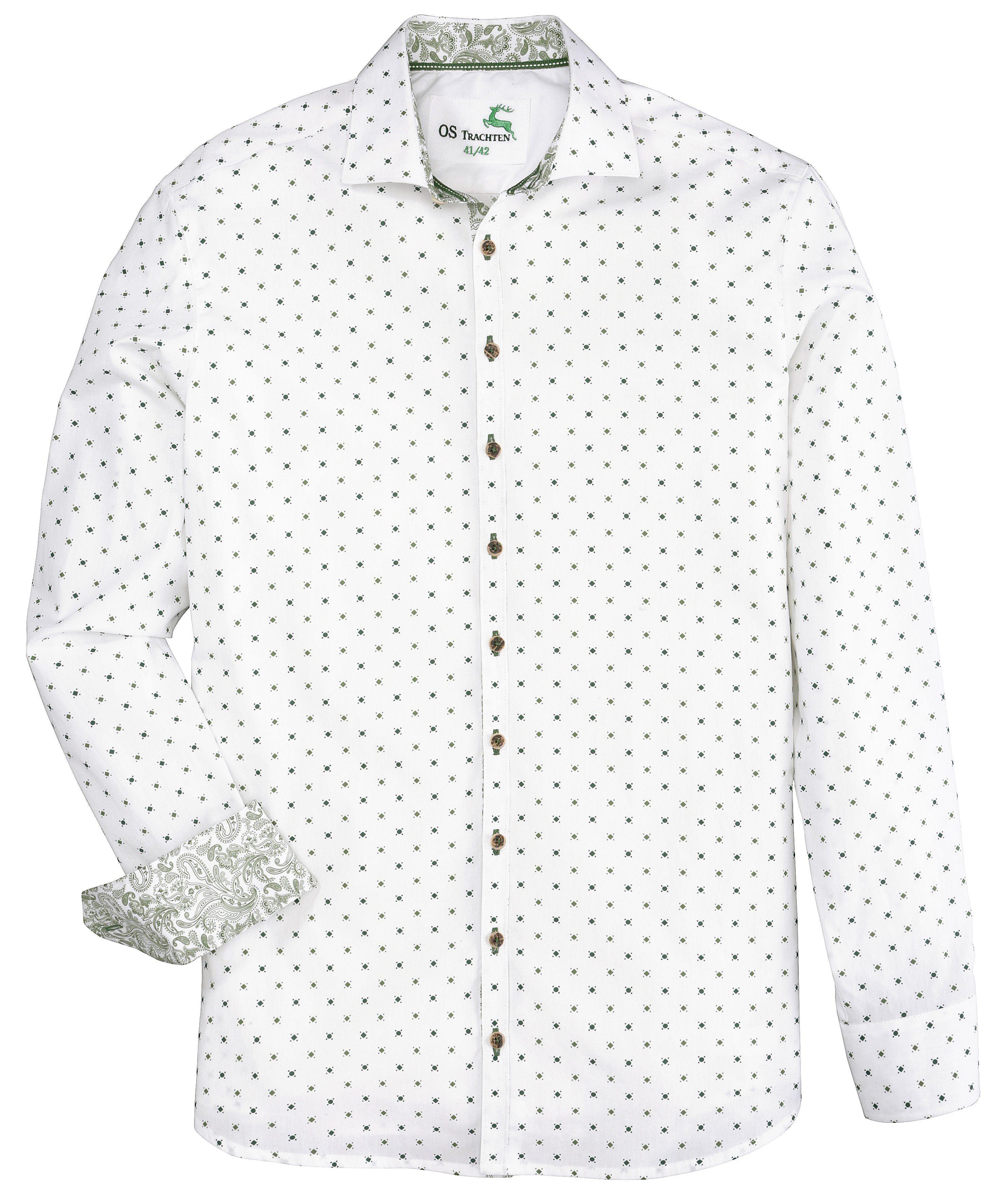 Trachtenhemd im Paisley-Design