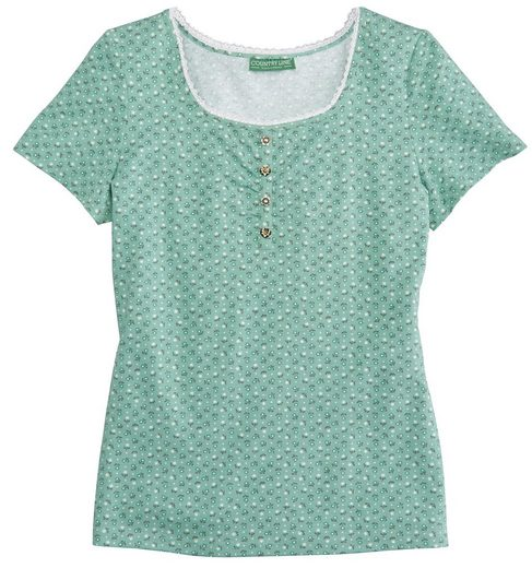 Country Line Trachtenshirt Damen in taillierter Form