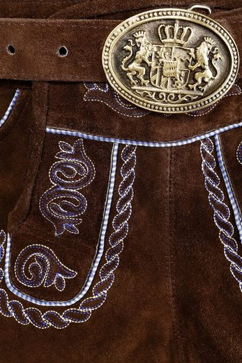 Country Line Kurze Trachtenlederhose Damen mit Stickerei