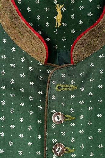 Almsach Trachtengilet Men With Flower Print