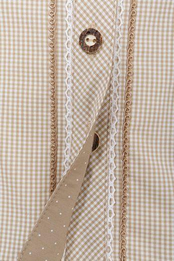Marjo Trachtenbluse Damen mit Schleife am Kragen