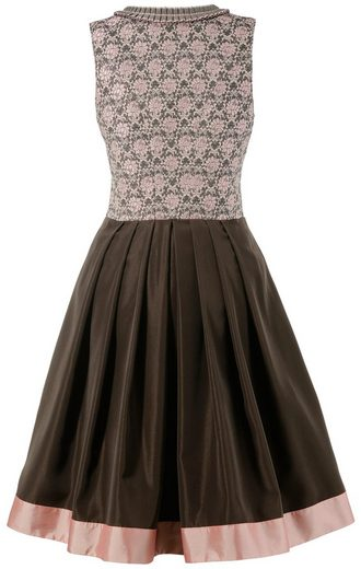 Country Line Dirndl midi mit floralem Muster