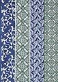 Trachtenschal im Streifendesign, Bild 2