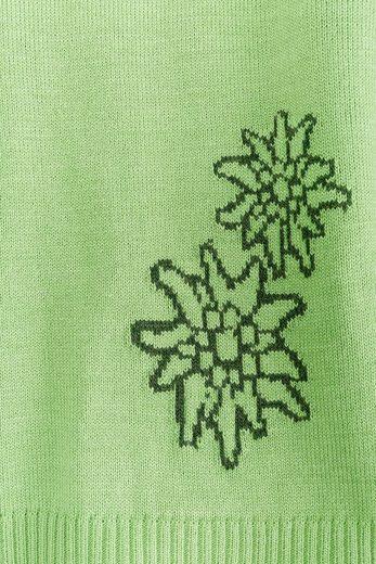 OS-Trachten Trachtenpullover Damen mit Edelweißmotiv