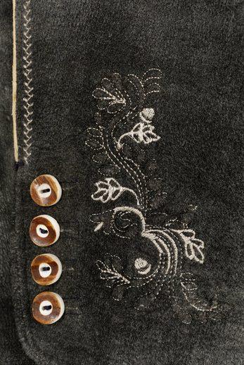 Marjo 3/4-lange Trachtenlederhose Damen mit Stretchanteil