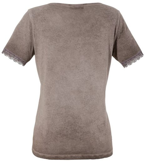 Country Line Trachtenshirt Damen mit Spitzeneinsatz