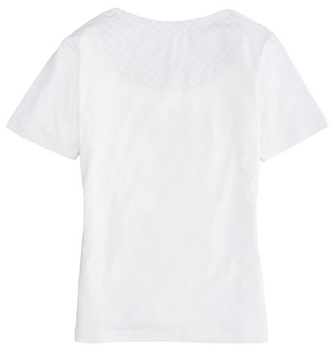 OS-Trachten Trachtenshirt Damen mit Reh-Motiv