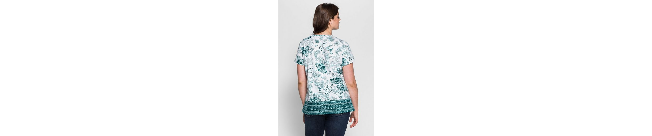 sheego Casual T-Shirt, in leichter A-Form