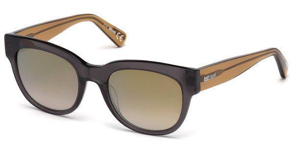 Just Cavalli Damen Sonnenbrille » JC759S«, grau, 20G - grau/braun