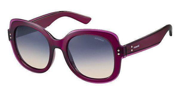 Polaroid Damen Sonnenbrille » PLD 4036/S«, rot, JB6/PV - rot/lila