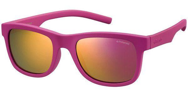 Polaroid Kinderbrillen Sonnenbrille » PLD 8019/S«, lila, 2Q1/MF - lila/lila