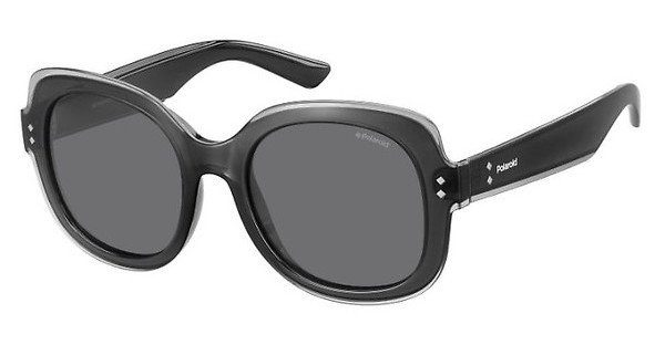 Polaroid Damen Sonnenbrille » PLD 2036/S«, grau, MNV/Y2 - grau/grau