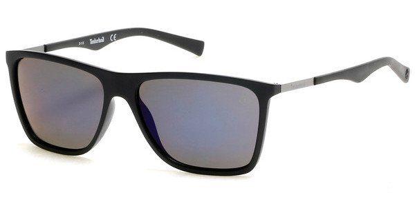 Timberland Herren Sonnenbrille » TB9108«, schwarz, 02D - schwarz/grau