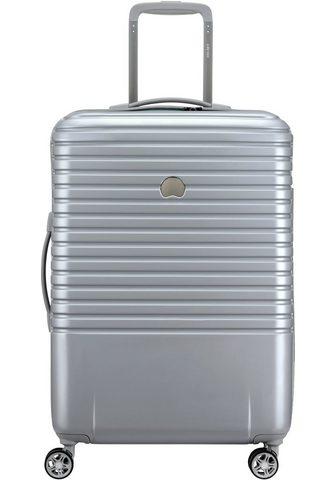 DELSEY Plastikinis lagaminas ant ratukų