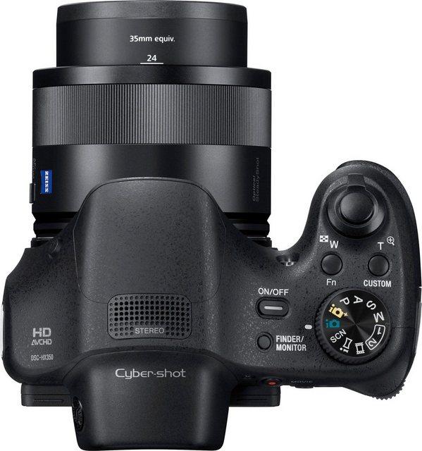 Digitalkameras - Sony »DSC HX350B« Superzoom Kamera (ZEISS Vario Sonnar® T, 20,4 MP, 50x opt. Zoom, inkl. Sony Tasche LCS U11, 16 GB SD Karte, 10 € Fotogutschein)  - Onlineshop OTTO