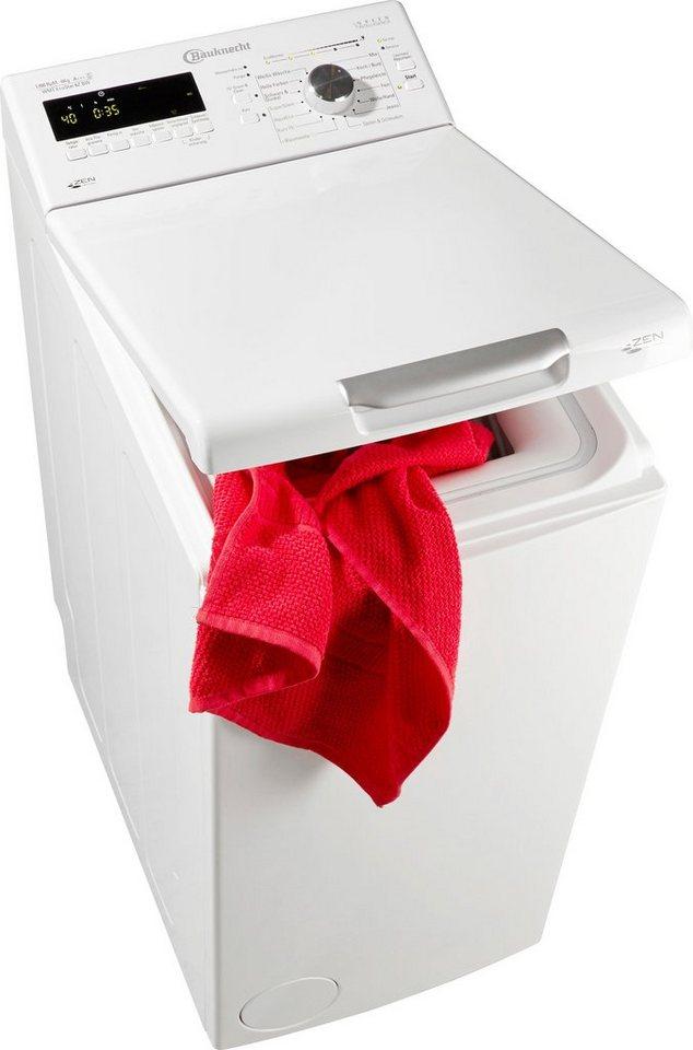 Bauknecht Waschmaschine Toplader Wmt Ecostar 6z Bw 6 Kg 1200 Umin