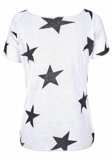 Key Largo T-Shirt Cool, im tollen Sternen-Print