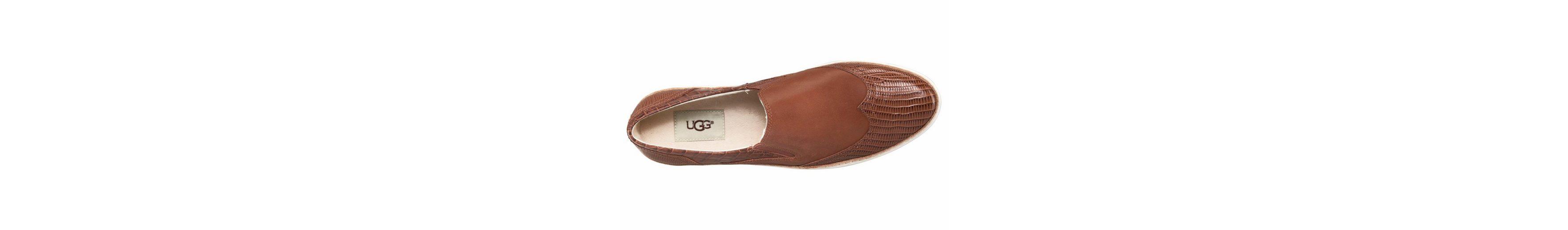 UGG Hadira Croco Slipper, mit toller Croco-Prägung