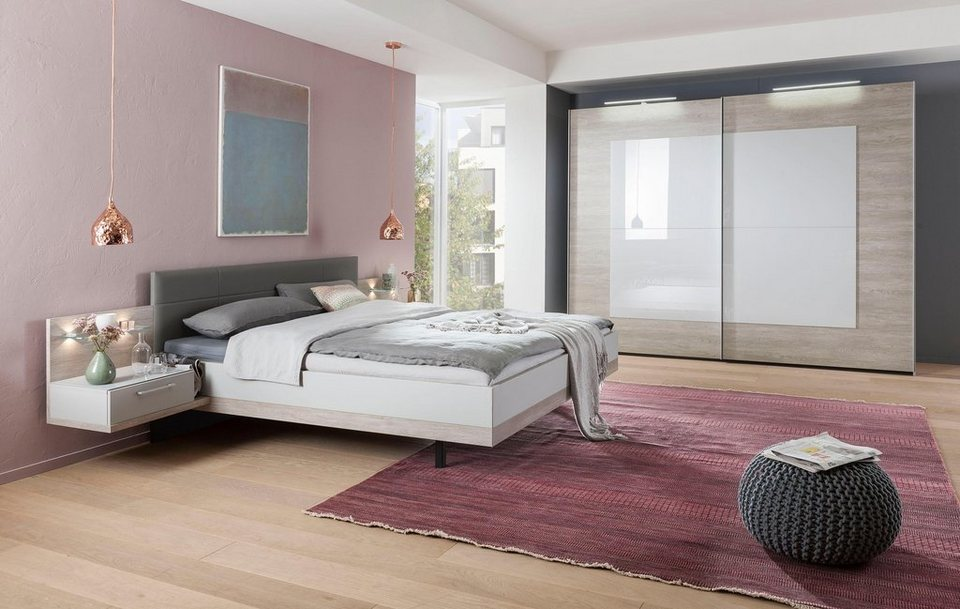 nolte m bel schlafzimmer set novara 4 tlg otto. Black Bedroom Furniture Sets. Home Design Ideas