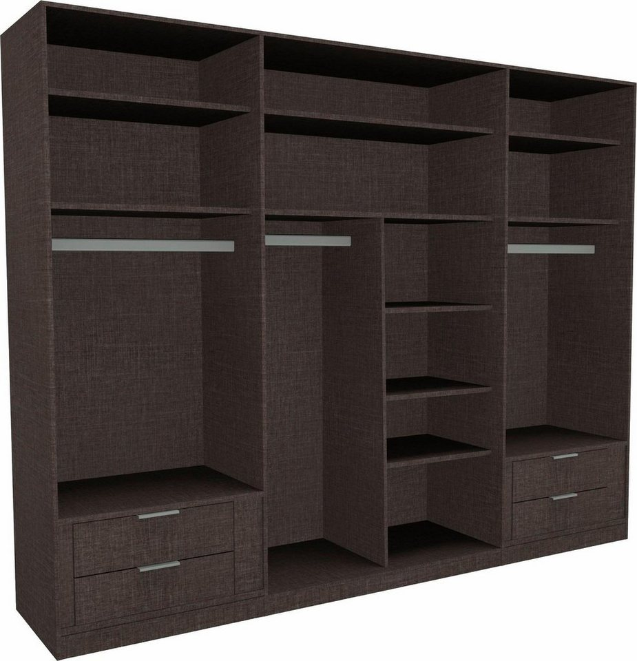 nolte m bel zubeh r set f r den kleiderschrank novara 3 tlg online kaufen otto. Black Bedroom Furniture Sets. Home Design Ideas