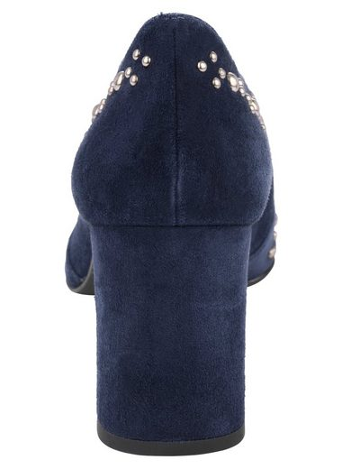 Rivets Heine High Front Pumps With