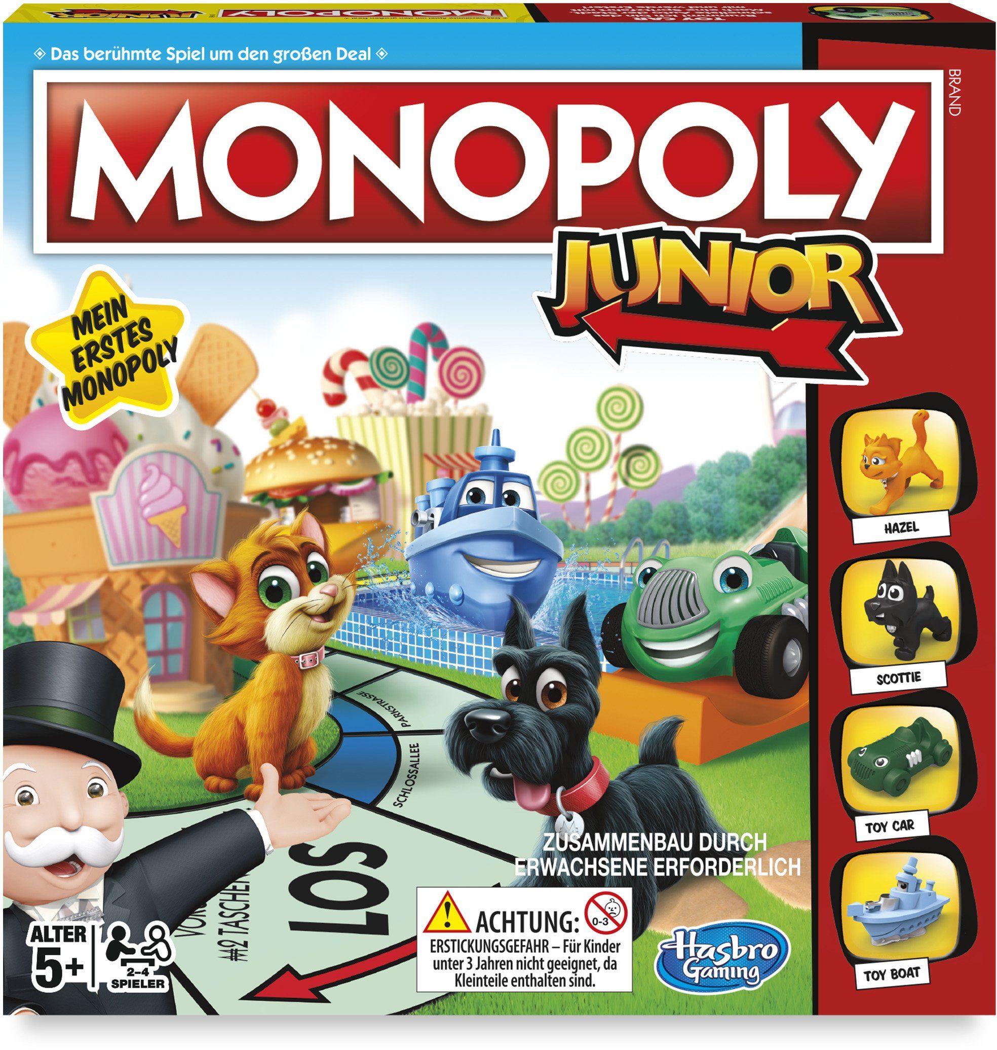 Hasbro Kinderspiel, »Monopoly Junior, Neuauflage«