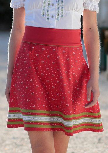 Spieth & Wensky Trachtenrock mit seitlichem Zipp