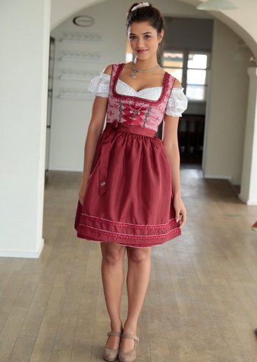 Marjo Dirndl kurz mit Bänderschnürung