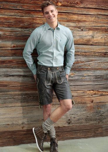 Almsach Trachtenhemd mit edlem Muster