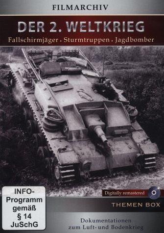 DVD »Der 2. Weltkrieg: Fallschirmjäger -...«