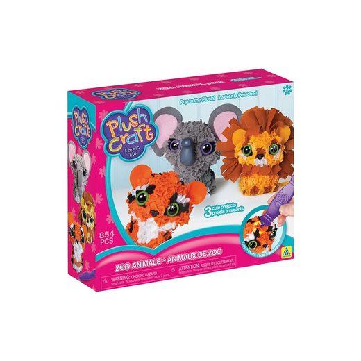 PlushCraft Plush Craft 3D-Mini-Figuren Zootiere