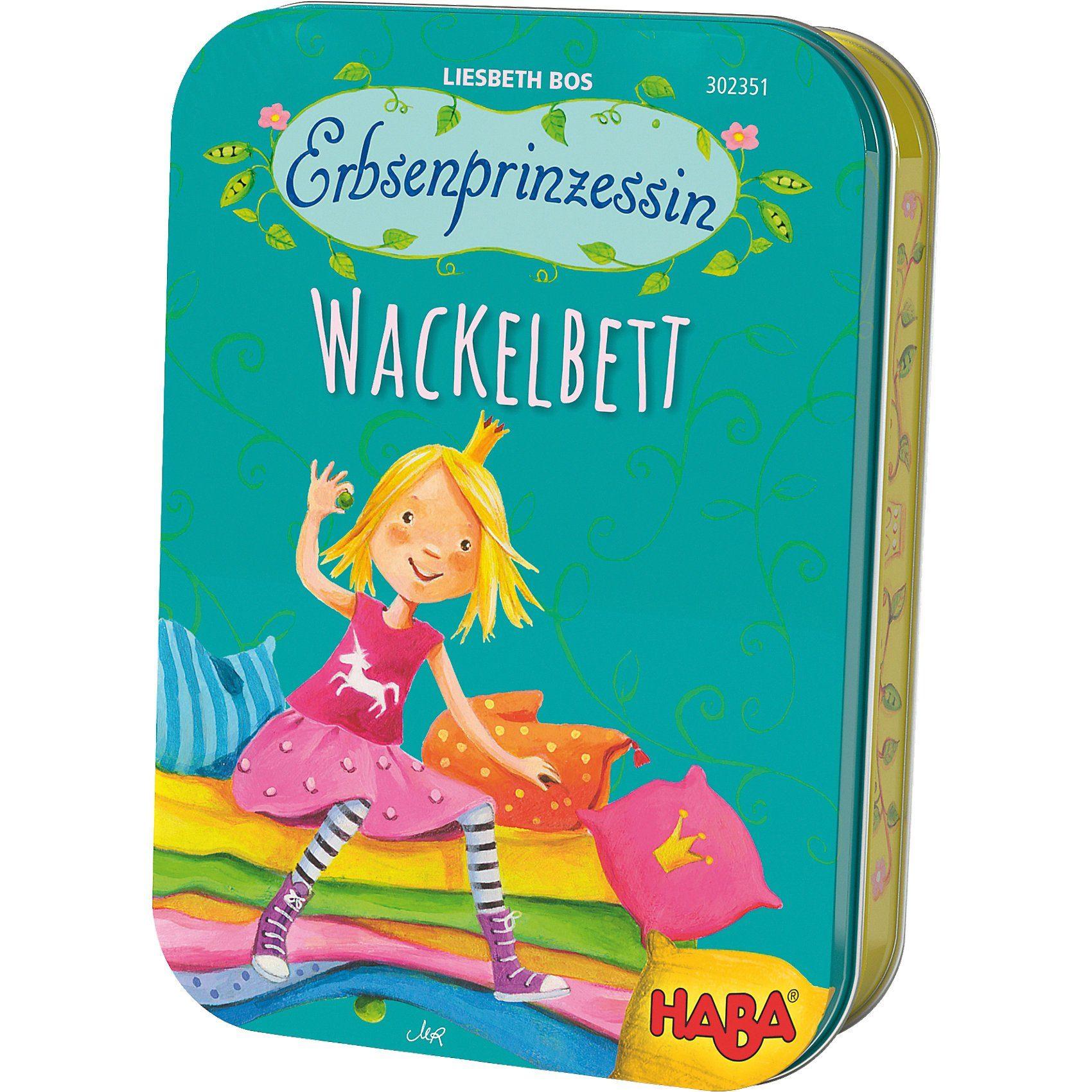Haba Erbsenprinzessin - Wackelbett (Dosenspiel)