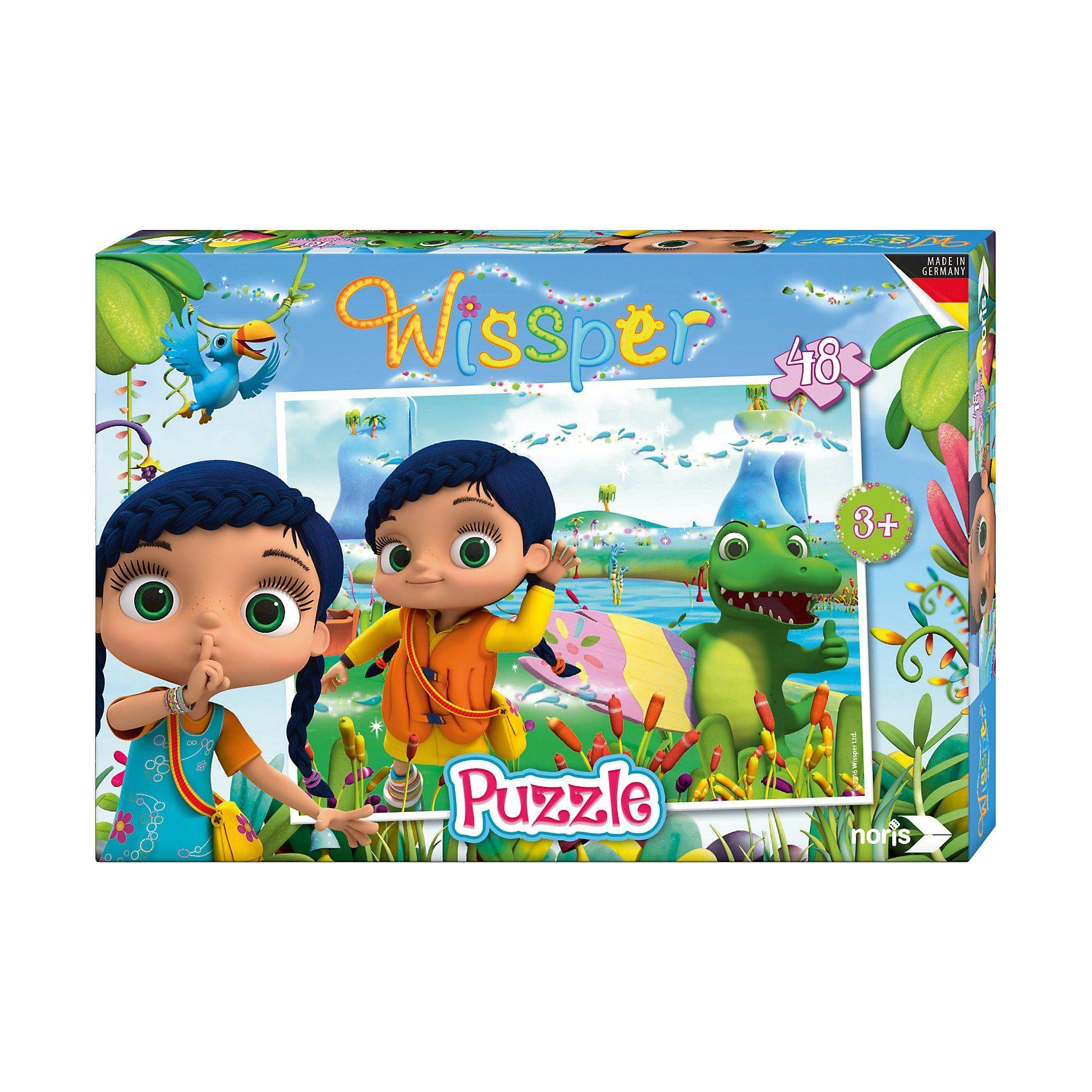 """Noris Puzzle 48 Teile Wissper """"In der Wasserwelt"""""""