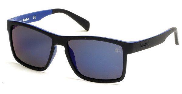 Timberland Herren Sonnenbrille » TB9081«, blau, 91D - blau/grau