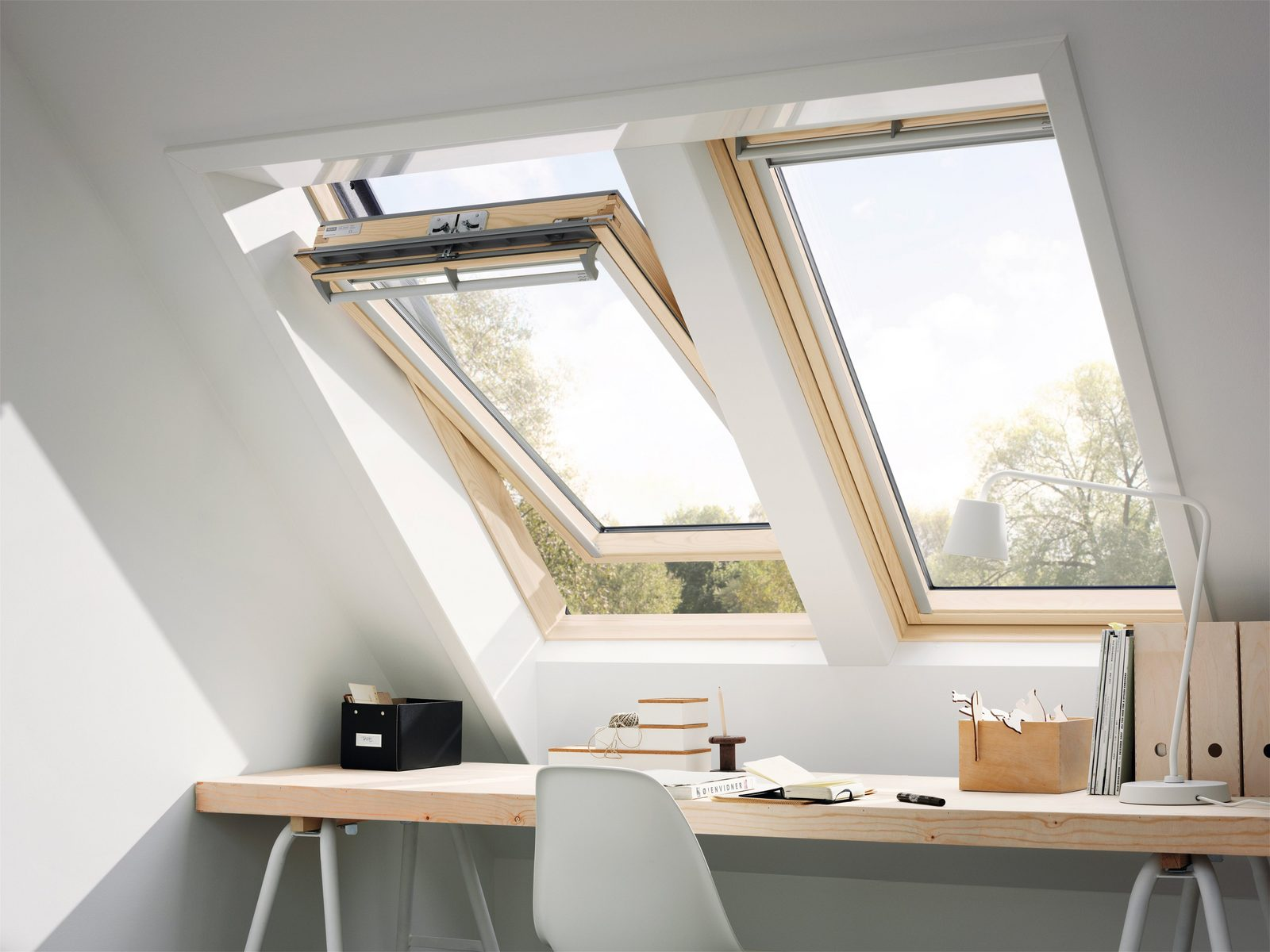 VELUX Dachfenster »GGL CK02«, BxH: 55x78 cm - broschei