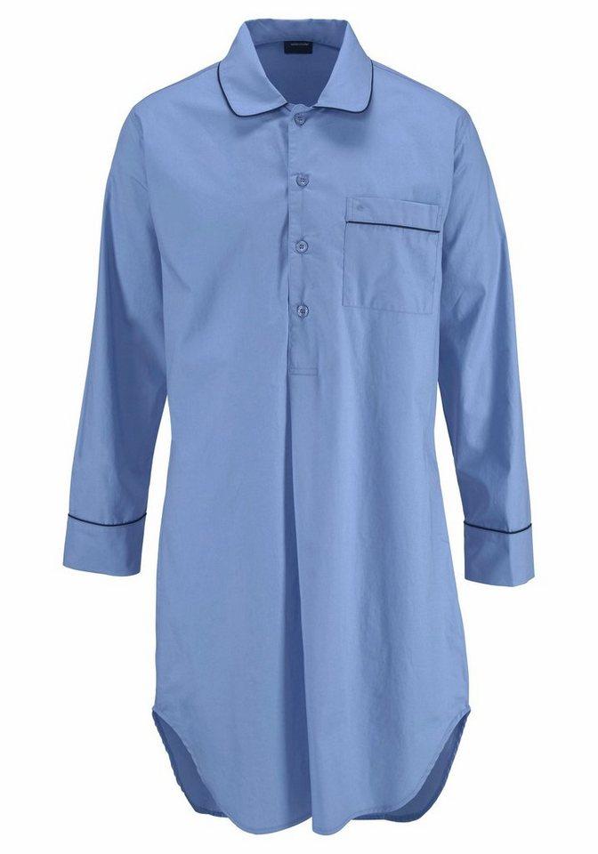 seidensticker nachthemd f�r herren in hemdenqualit�t online kaufen  seidensticker nachthemd f�r herren in hemdenqualit�t