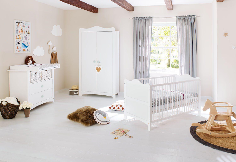 Pinolino Babyzimmer Set (3-tlg) Kinderzimmer »Florentina« breit
